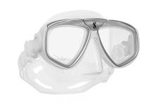 Masque de plongée, Scubapro, Zoom Evo gris et jupe cristal