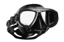Masque de plongée, Scubapro, Zoom Evo gris et jupe noire