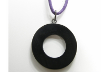 Pendentif pour lunettes black acetate