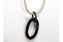 Pendentif pour lunettes black horn