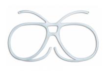 Accessoires de sport, Demetz, Kit Opticob pour masque de ski taille S