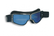 Lunettes de moto, Demetz, Aviator Goggle 4182 gris miroir bleu 94f03760c054