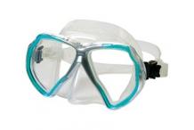 Masque de plongée, Beuchat, X contact 2 mini bleu