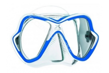 Masque de plongée, Mares, Ultra Liquid skin bleu