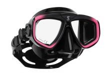 Masque de plongée, Scubapro, Zoom Evo rose et jupe noire