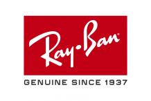 [ B ] Paire de verres, RayBan, Minéral brun